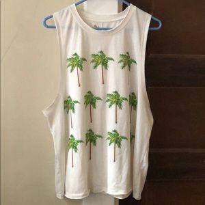 Show me your mumu palm tree tank top